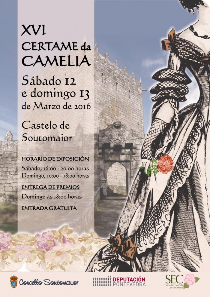 Certame da Camelia de Soutomaior - 16 - marzo - 2016 - cartel