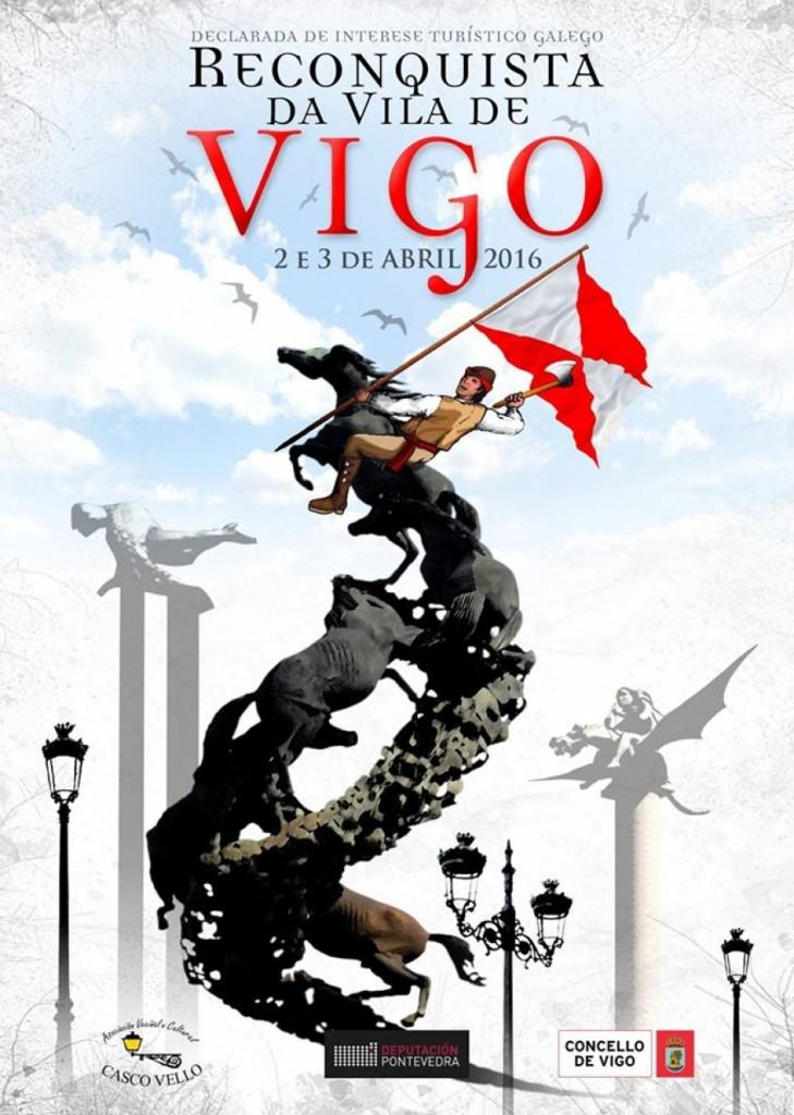 Festa da Reconquista - Vigo - 2016 - cartel