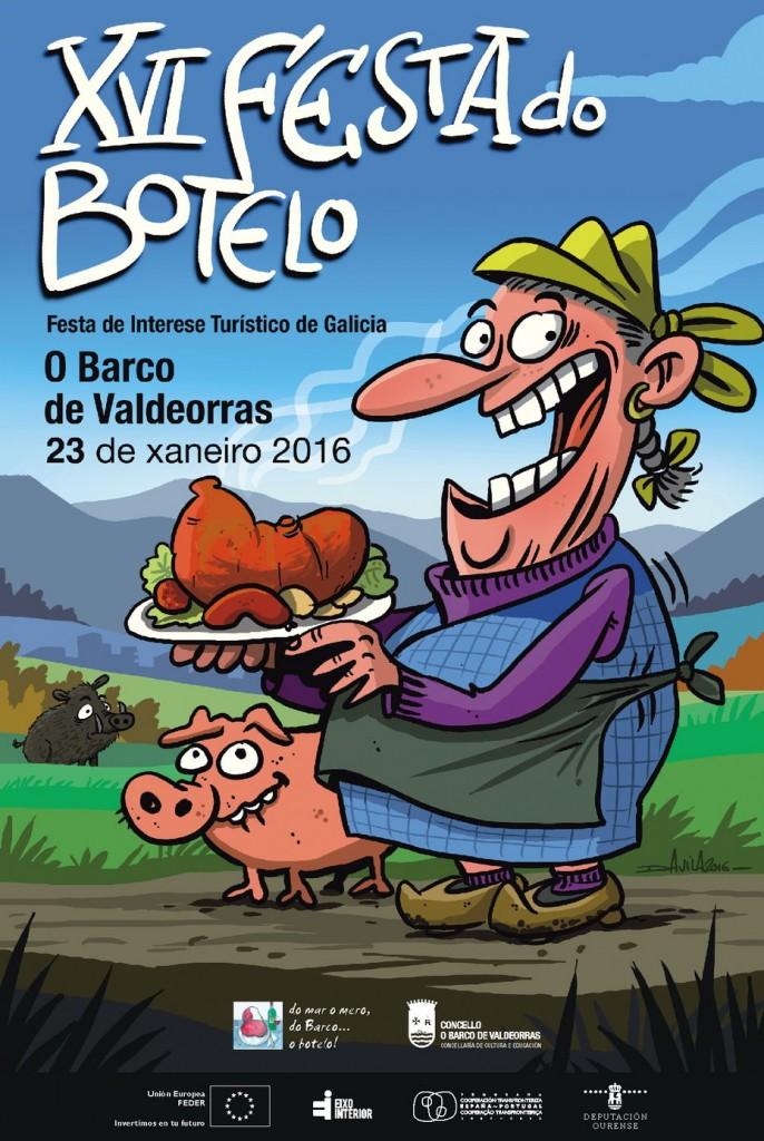 Festa do Botelo do Barco de Valdeorras - 16 - xaneiro - 2016 - cartel